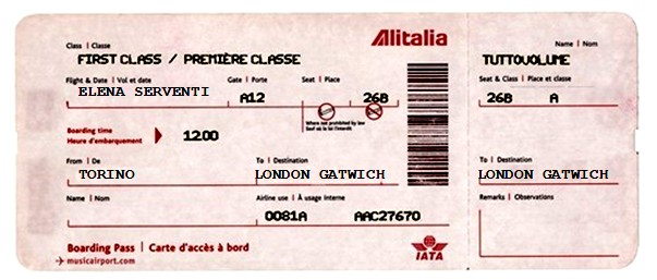 the best attitude e8cf5 75712 Tecnologia elettronica: Biglietti aerei per londra